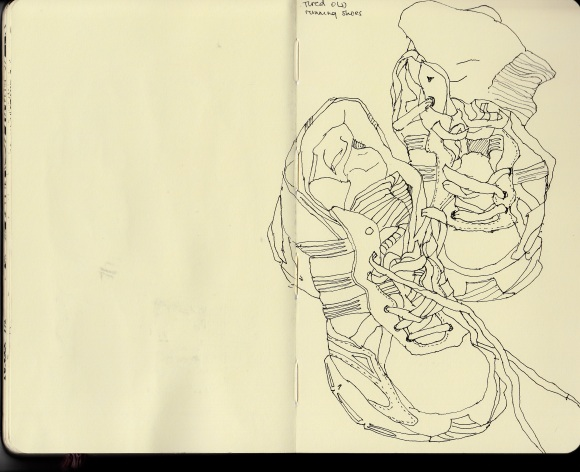 Drawing of my trainers