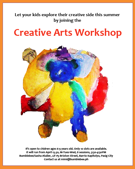 Summer Creative Arts Workshop